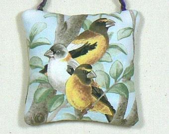 Hanging Sachet, Scented Mini Pillow,  Scented Ornament, Door Knob Pillow, Nursery Decor, Lavender Sachet, Tree Decoration, Sachet Pillow