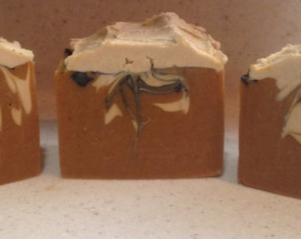 Pumpkin Creme  Soap, large handmade bars