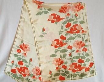 Vintage Vera Rose Scarf