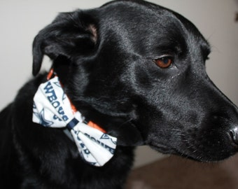Dallas Cowboys Dog Bow/Bow Tie Accessory