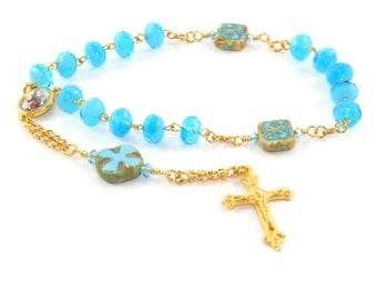 Saint Anne Chaplet Rosary, Patron Saint of Mothers, Homemakers & Pregnancy