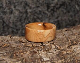 Size 7  3/4 - Olive Wood Ring
