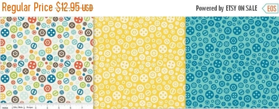 HALF YARD BUNDLE Fun and Games for Riley Blake 100% Cotton Quilt Apparel Craft Novelty Gears Steampunk Boy's Men's Techie