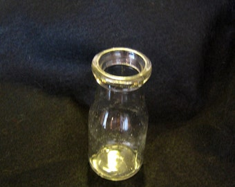 Vintage Duraglass Half Pint Milk Bottle
