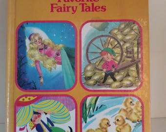 1980 The Rand McNally Book of Favorite Fairy Tales