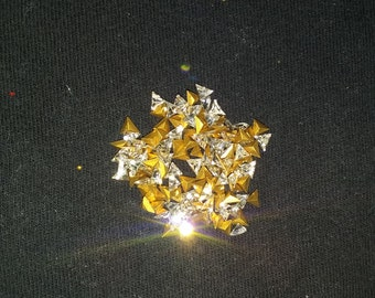 Swarovski crystal triangles 5mm