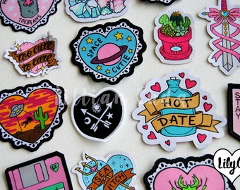 SALE Machine Woven Patches Discount Bundle