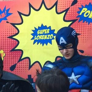 ON SALE Super Hero Wall Decals Super Hero Party Decor - Superhero wall decalssuper hero wall art etsy