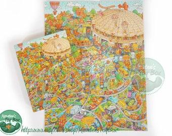 Complete Vintage Springbok Puzzle Super Dome Sunday 500 Pieces by Bob Martin