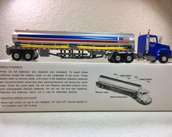 Vintage Marathon Oil Company Tractor Trailer Tanker Truck with Operating Taillights and Sound in Original Box Marathon Ashland Petroleum LLC