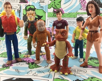 Vintage Land of the Lost Action Figures Tiger Toys - Saturday Morning Cartoons
