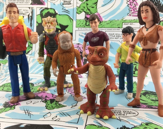 Featured listing image: Vintage Land of the Lost Action Figures Tiger Toys - Saturday Morning Cartoons
