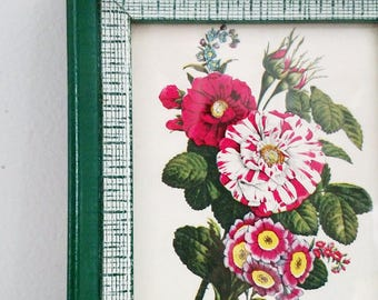 Small Floral Framed Print
