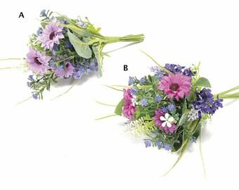 Gerberas and Lavender Bouquets 4 pcs