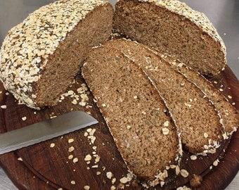 Certified Organic Whole Grain Spelt Bread (Dinkel)