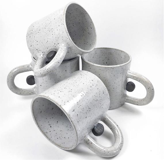 Black Dot Mugs