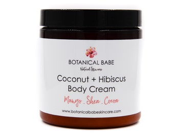 Coconut + Hibiscus Body Cream