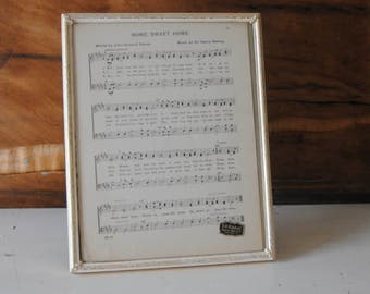 Vintage 8x10 Photo Picture Frame Whitewash Gold Plated