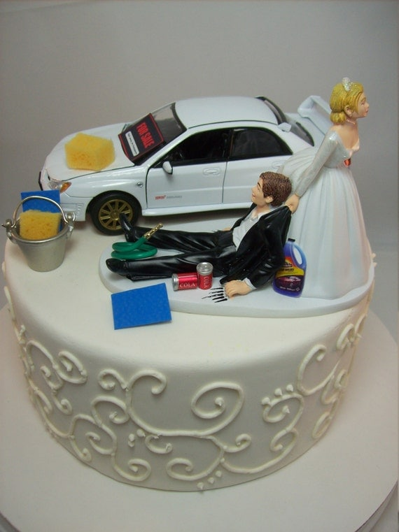 Funny Car Wash Subaru Impreza Wrx Sti White Fast Drift Auto