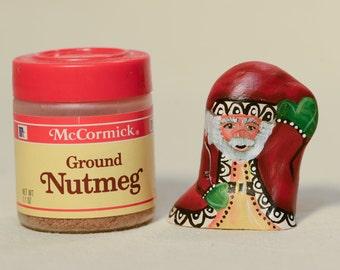 Tiny WoodCypress Knee Santa