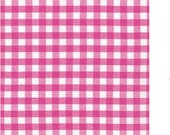 1st class mail - 1 Yard of Fuchsia 1/4 inch Gingham from Robert Kaufman's Carolina Gingham Collection