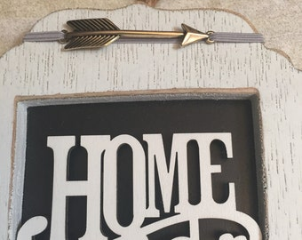 Gray Home Sweet Home Sign  gallery Wall sign family sign photo wall