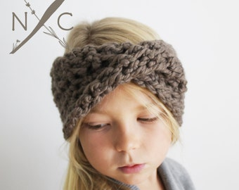 Crochet Pattern: The Harmony Ear Warmer -Toddler, Child, &  Adult Sizes-ear warmer headband fall chunky textured easy