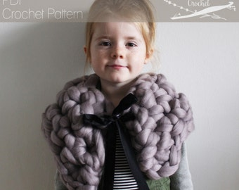 Crochet PATTERN: The Alcott Collar extreme crochet one size victorian dickens whimisical