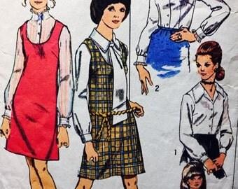 Miss Petites Min Dress and Blouse Simplicity 8883