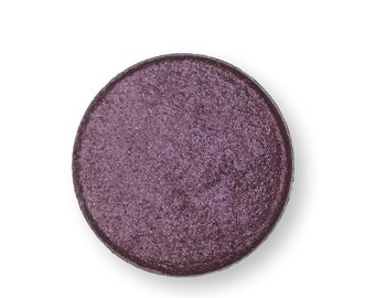 Jane Doe Dark Violet Purple 26mm Palette Pan Irridescent Metallic Mineral Eye Shadow eyeshadow Vegan Natural mineral Mica Makeup