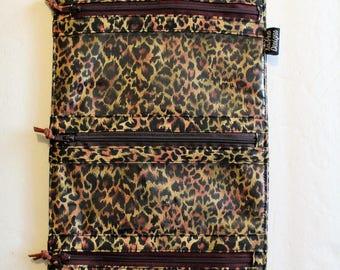 Jewelry Travel Case Jewelry Case Bridesmaid Gift Jewelry Organizer Travel Accessories Jewelry Clutch Travel Organizer Leopard Print