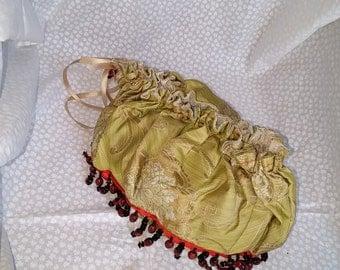 Steampunk Reticule purse