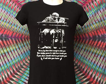Bella Junior FitBrent Mydland- I will take you home- Mongo Arts T shirt-Brent Mydland Tribute tee