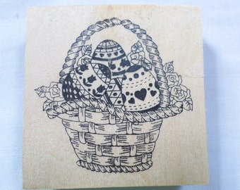Easter Stamp pad Wood Rubber