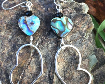 Abalone Heart Hoops