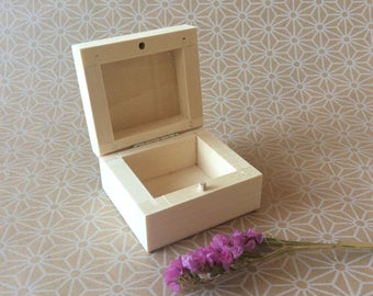 RESERVED -small wooden ring boxes