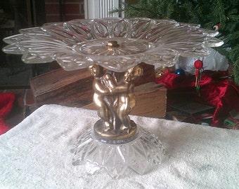 Vintage Pedestal Cake Stand