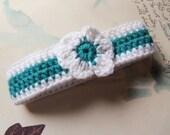 Handmade Crochet Pet Collar. Large Crochet Dog Collar. Pet Accessories.