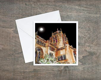 Anglican Cathedral Liverpool - Art Card