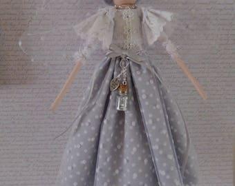 Shabby Chic Handmade Fairy Art Doll