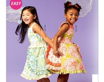 Kids Dress Pattern//McCalls//Free Domestic Shipping