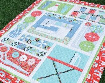 Amanda Murphy - Sewing Room Sampler Quilt Pattern
