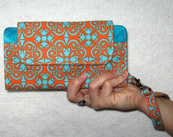 iPhone 6 Wallet Clutch Case Accessory...Cell Phone Wallet; Smart Phone Wristlet Wallet