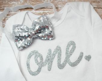 Girls First Birthday Shirt - Girls 1st Birthday - One Birthday - Toddler Girls Birthday - First Birthday Bodysuit - 1st Birthday Outfit