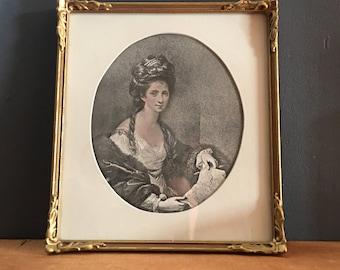 Vintage Framed Print - Angelica Kauffman