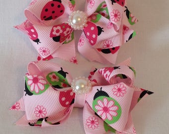 Boutique Hairbows/Stacked Hairbows/Baby Hairbows/Girls Hairbows