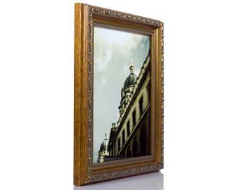 "Craig Frames, 8.5x11 Inch Antique Gold Picture Frame, Ancien Ornate 1.325"" Wide (63018511)"