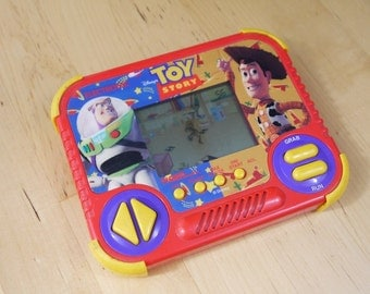 Vintage Toy Story Tiger Electronics Handheld LCD Game 1994 TESTED and WORKING