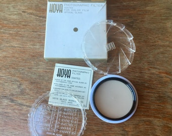 Hoya 52mm Color Photo Filter for Type A Flash, 81C