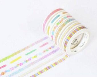 Japanese Washi Tape- Masking Tape -decoration Tape 15mm